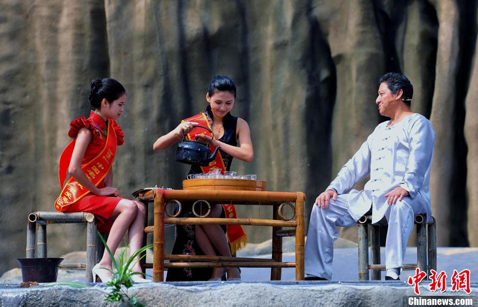 美女礼仪助阵文化旅游节