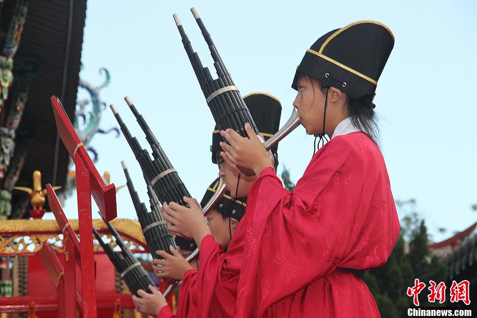台北孔庙千人祭孔