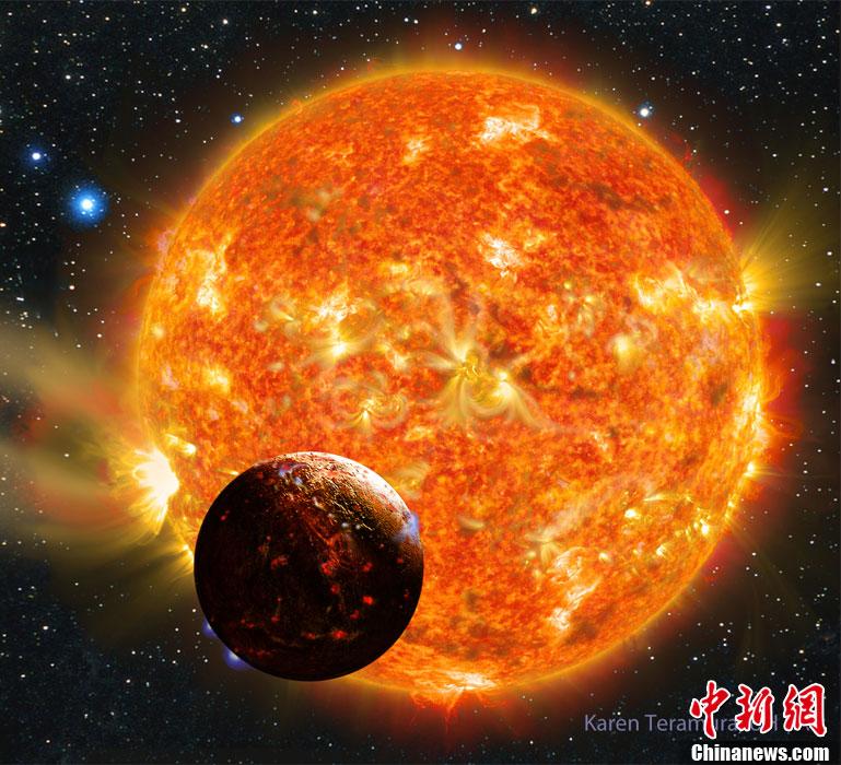 天文学家发现第一颗地球大小系外行星