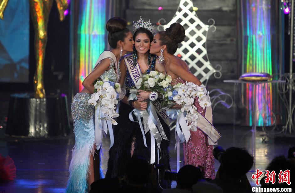 2013国际变性人选美决赛在泰落幕 三甲出炉热情拥吻