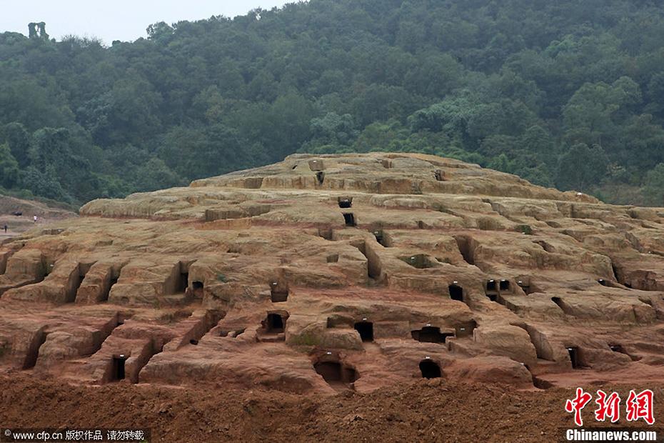 四川发掘600座崖墓 多数已被盗