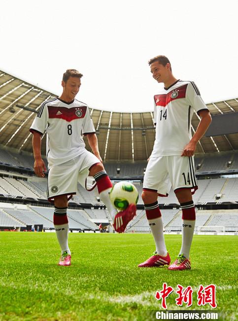 2014世界杯球衣_德国队2014世界杯球衣发布-中新网
