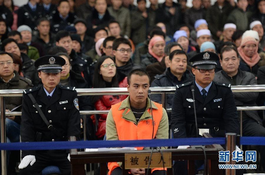 宁夏彭阳 10 14 特大杀人案一审开庭审理
