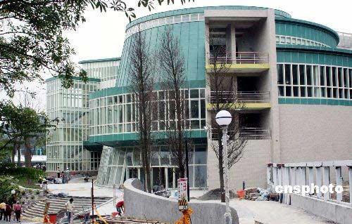 图:台北动物园熊猫馆竣工在即