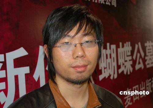 有中国大陆金牌悬疑小说家之称的蔡骏.