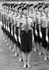 解放军07式军服图片