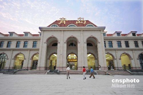 图:青岛火车站扩建改造工程基本完工