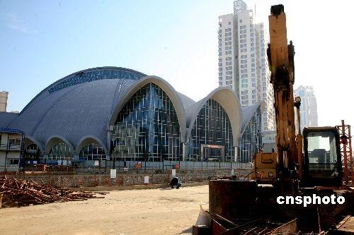 图:沈阳地标性建筑夏宫即将爆破拆除(2)