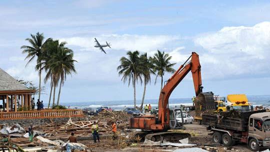 萨摩亚群岛地震和海啸已致155人死亡