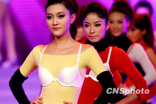 图:内衣模特大赛 众靓模内衣外穿秀创意(4)