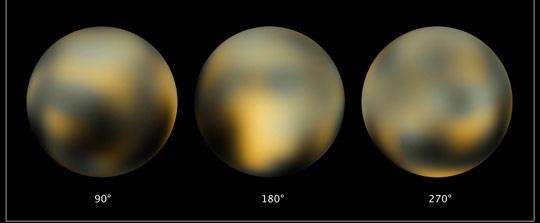 图:美国航空航天局公布冥王星最新照片(2)