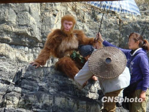 张纪中版《西游记》浙江桃花岛开拍
