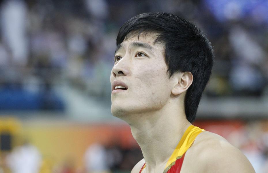 室内田径赛刘翔获第七 罗伯斯夺冠
