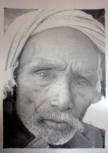 图片频道-英国画家铅笔素描酷似照片