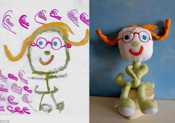 幼儿园手工制作大全图片布偶