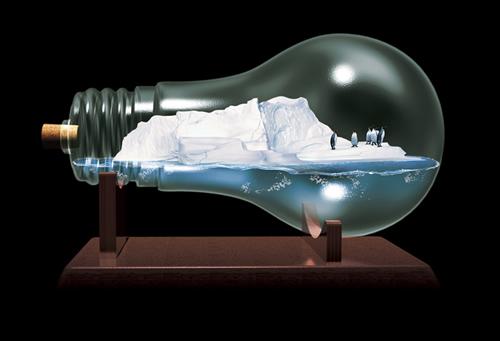 全球变暖创意公益广告