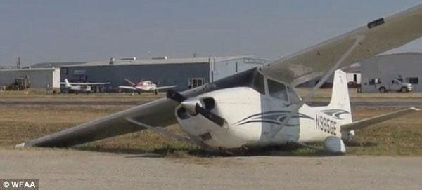 美男子学飞机驾驶与越野车相撞- 中国日报网