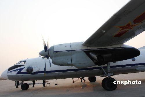 增雨飞机先后在安徽蚌埠