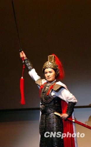 图:中国歌剧《木兰诗篇》在日本首演