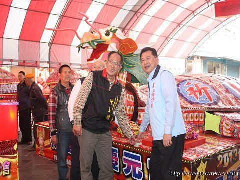 台湾小镇用1万包平安面打造祈福龟求平安健康