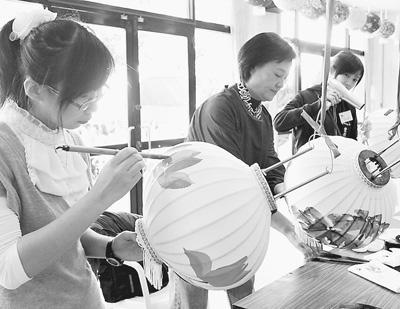 各地灯会祈福求财台湾科技、环保闹元宵