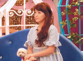郭人豪的妻子nina昨天照常录节目.台湾《联合报》图
