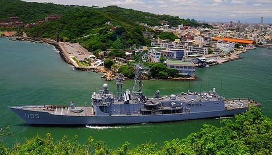 台勘测队登南海太平岛调查钻探
