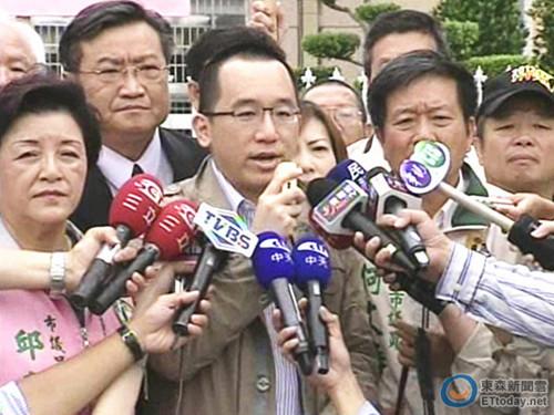 """陈水扁之子陈致中欲回民进党竞选""""立法委员"""""""