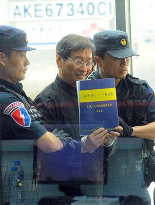 中华统促党总裁张安乐自称政治义工:保台永久安定