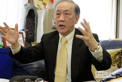 """郁慕明/郁慕明指出,民主政治不是""""以死相逼"""",台当局如今动辄得咎,..."""