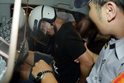 台北士林地方法院裁准收押台北捷运砍人嫌犯