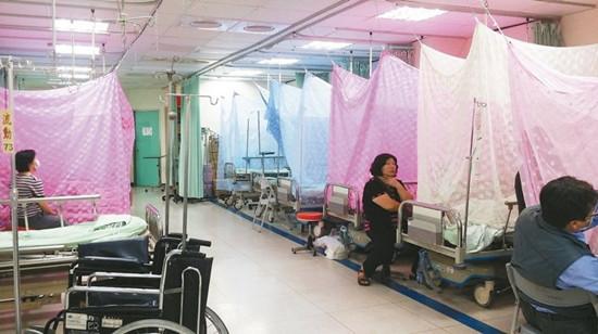 台南市登革热病患塞爆医院产妇睡走廊(图)