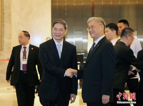 台陆委会主委今访大陆两岸事务部门负责人将再会面