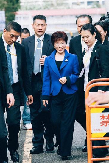 洪秀柱演说称尊重国民党临全会决定强调不会放弃党