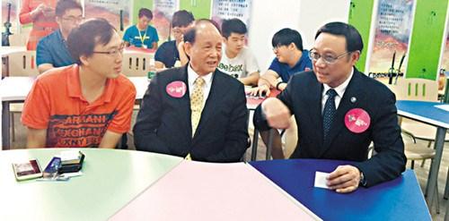 林中森力捧台湾青年到厦门创业