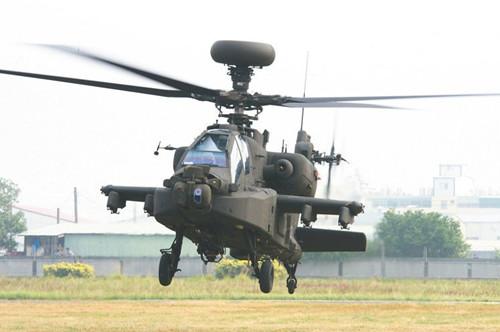 台湾阿帕奇直升机现锈蚀缺料问题美方协助处理