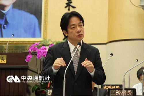 台南议员要求赖清德防疫登革热暂停辅选(图)