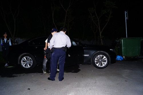 基隆男子暗夜遭枪手袭击右肩中弹锁骨碎裂(图)
