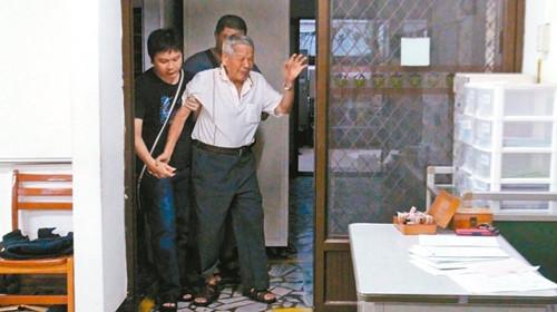 台湾一男子疑因中风产生幻觉出院2小时杀妻跳楼