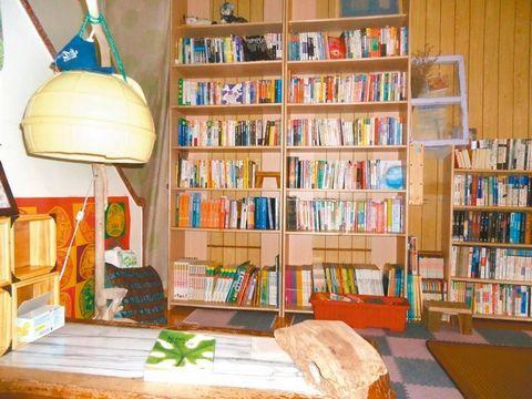 澎湖無人書店隱身巷弄三年沒被偷過(圖)