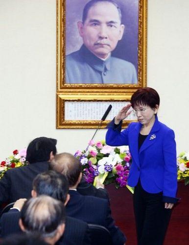 马英九坦承败选有责力挺洪秀柱改革党务(图)