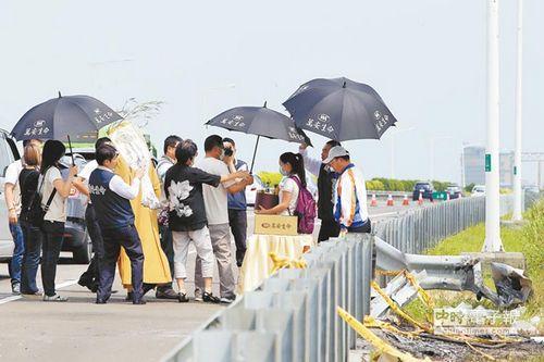 火烧车8名罹难者家属同意和解:尽早结束悲伤台湾行