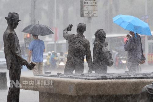 台湾未来一周防大雨豪雨南部13日雨势越晚越强