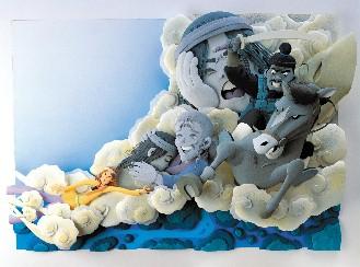 鱼纸雕制作图解