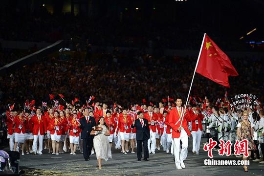 """奧運會中國體育代表團獲""""影響世界華人大獎""""提名"""