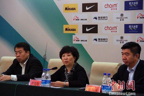 中国时隔十年再次承办女排亚锦赛赛事落户天津