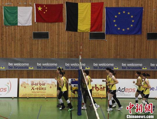 女排冠军赛天津险胜北京 半决赛将与八一队过招