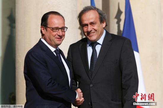 普拉蒂尼正式竞选FIFA主席 称命运握在自己手中