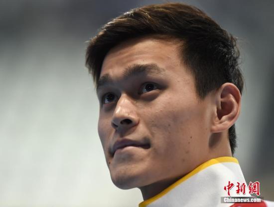孙杨否认将放弃长距离项目豪言里约奥运夺回金牌