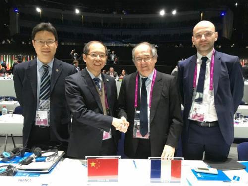 中法两国足协展开合作侧重足球技术培训为期3年
